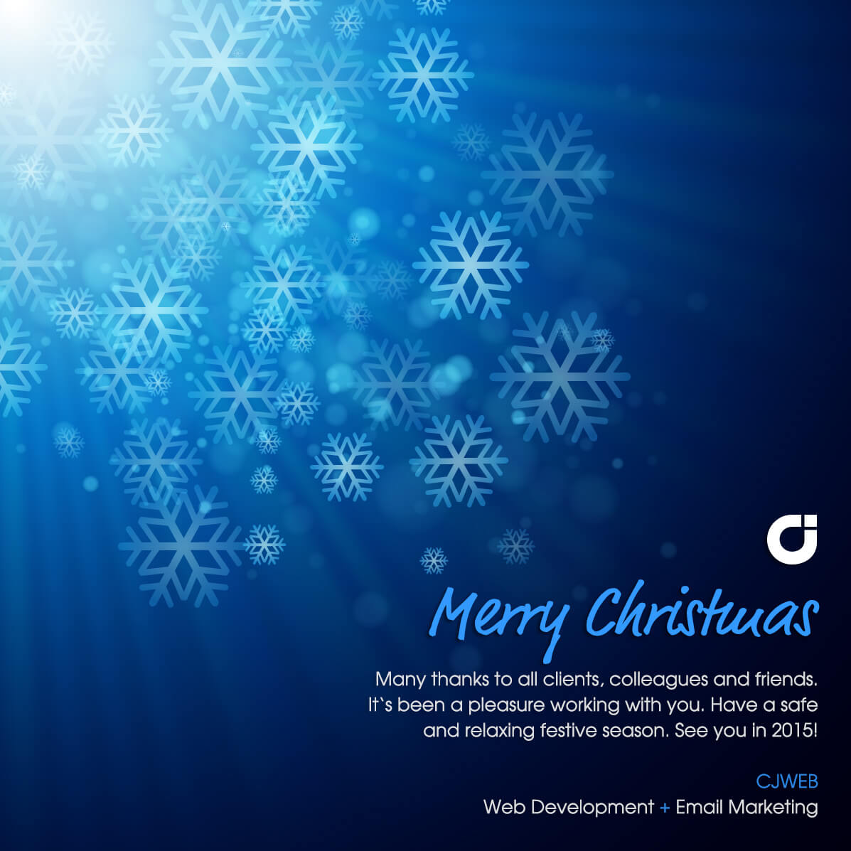 Merry Christmas from CJWEB