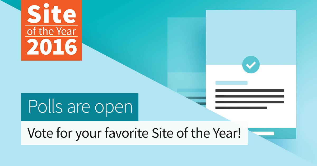 2016 Site of the Year Nomination